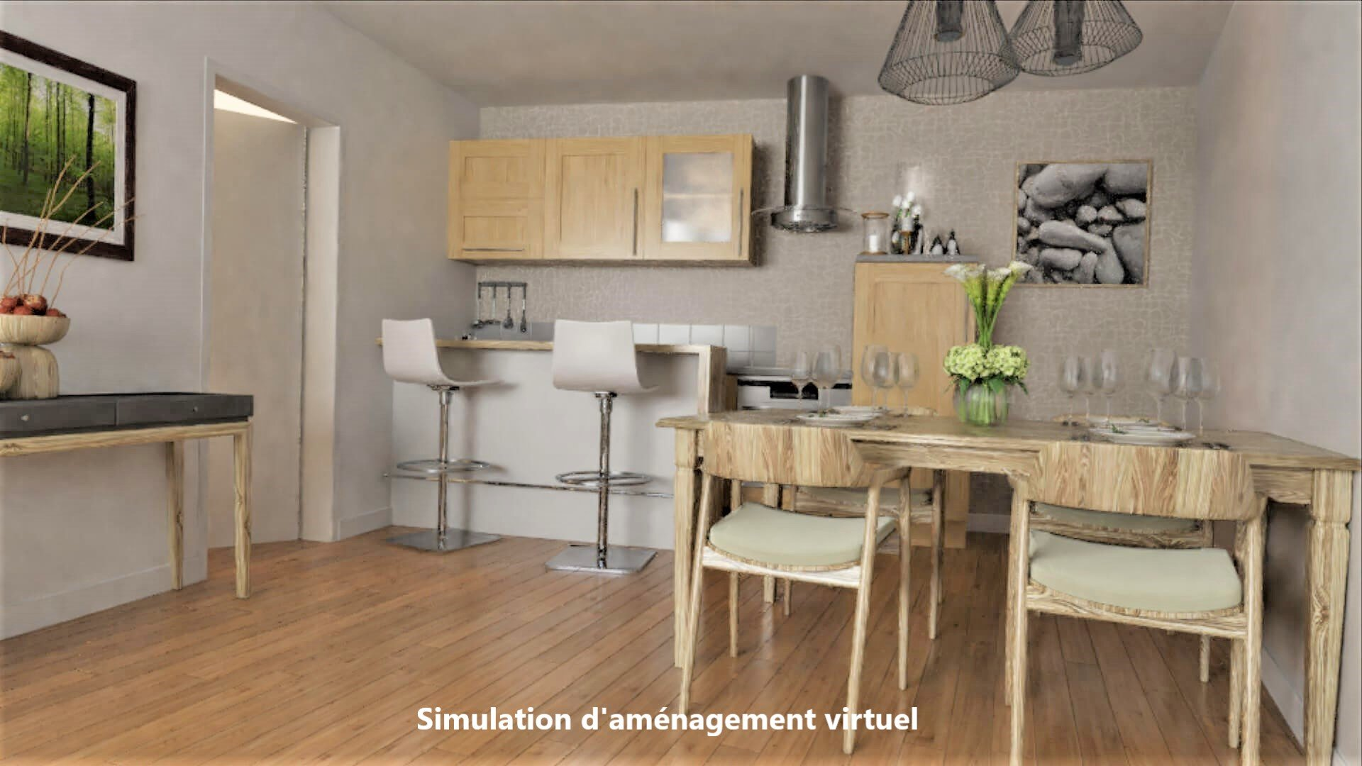 Vente appartement T3  à BEGLES - 4